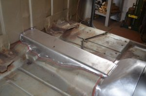 1965 Chevy C10 new fabricated firewall