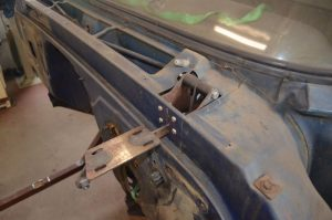 1965 Chevy C10 start on new fender fabrication