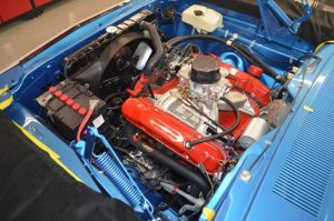 1970 Plymouth GTX engine