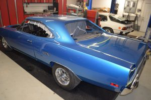 Metallic Blue 1970 Plymouth GTX