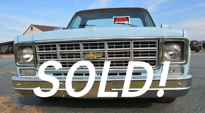 1977 C10 sold
