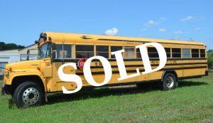2002 Chevy 220HP Cat Diesel Bus